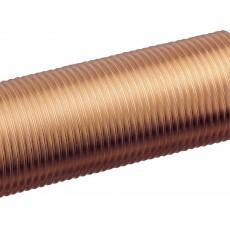 Threaded tube
