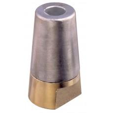 Ogiva per asse con zinco intercambiabile