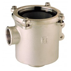 """Water strainer """"Ionio"""" series with polycarbonate cover"""