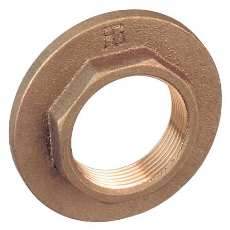 Flanged lock nut heavy series