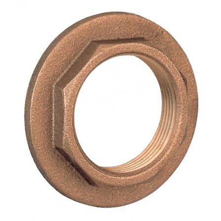 Flanged lock nut
