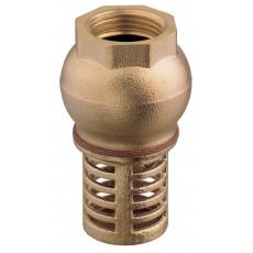 Rubber disk foot-valve