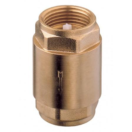 Spring check valve - POM/NBR closing system