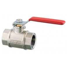 Lever operated ball valve F-F full flow