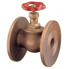 """""""Globe"""" valve metal tightness - semi automatic closing with undrilled or PN6/16 drilled flanges"""
