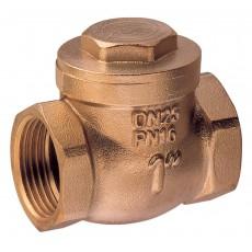 Swing check valve metal tightness
