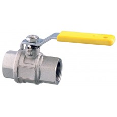 """Lever operated ball valve F-F - full flow """"2000"""" series"""
