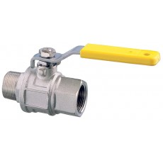 Lever operated ball valve M-F - full flow 2000 series