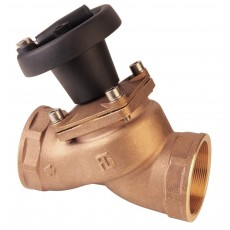 """Threaded """"non stick"""" valve with position indicator"""