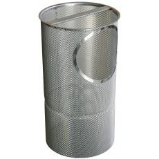 Cestello in acciaio inox 316 con zinco