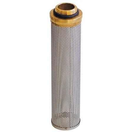 Prefiltro in acciaio inox 316 e O-ring per decantatore carburante