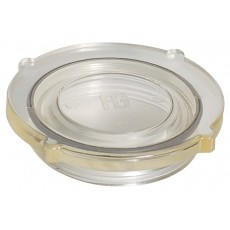 Set comprising: grilamid TR55 see-thru cover and neoprene O-ring for water strainer