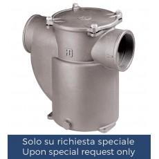 """Filtro depurazione acqua serie """"Mediterraneo"""" con coperchio in metallo"""