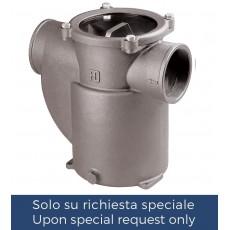 """Filtro depurazione acqua serie """"Mediterraneo"""" con disco in policarbonato"""