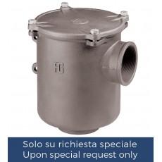 """Filtro depurazione acqua serie """"Ionio"""" con coperchio in metallo"""