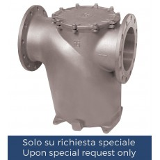 Horizontal intakewater strainer with PN6/PN16 flanges