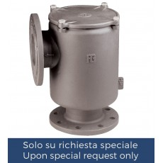 Vertical intakewater strainer with PN6/PN16 flanges