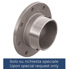PN6 / PN16 flange with male thread