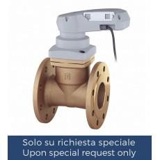 """Non stick"" valve with electric actuator"
