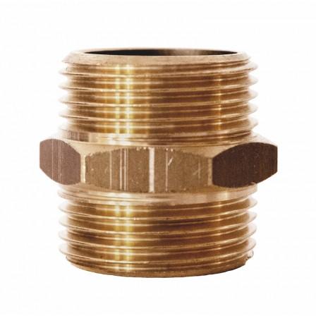 Niples doppio filettatura cilindrica
