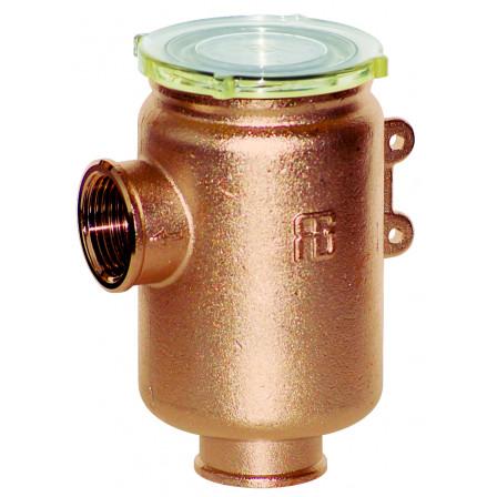 """Filtro depurazione acqua serie """"Tirreno"""" con coperchio grilamid tr55 trasparente"""